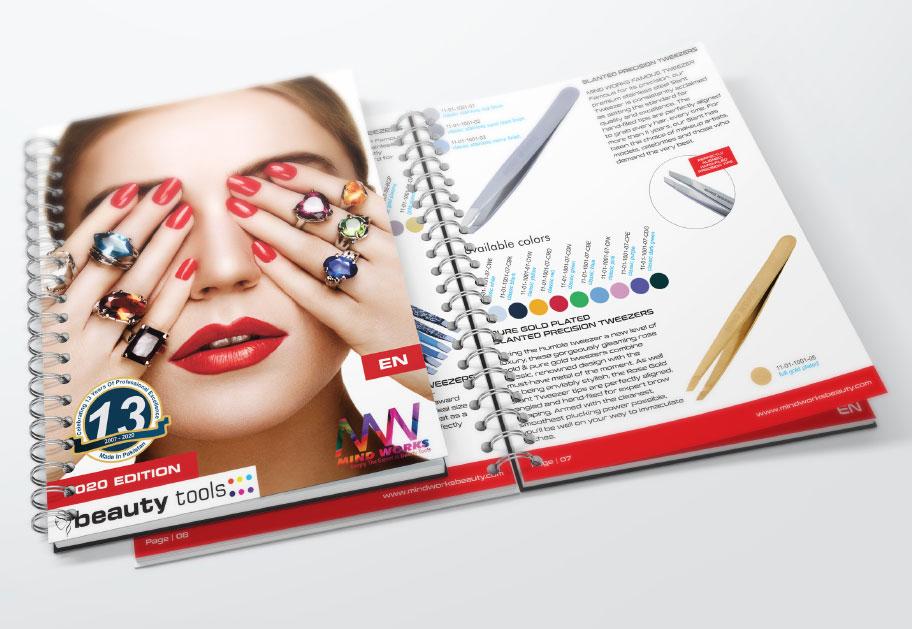 Beauty Instruments Catalog Design by Intech