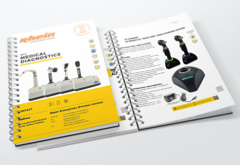Medical Instruments Catalog Design by Intech