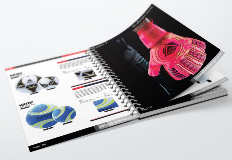 Sports Goods Catalog Design by Intech